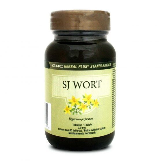 GNC Herbal Plus SJ WORT Hierba de San Juan 300 mg