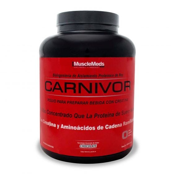 MuscleMeds Carnivor Proteína de carne de res Chocolate - 4.6 lb