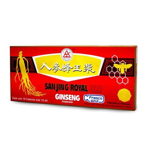 Sanjing Ginseng & Royal Jelly - 100 ml