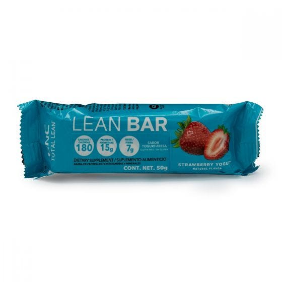 GNC Total Lean Barra de Proteína Yogurt de Fresa - 50 gr