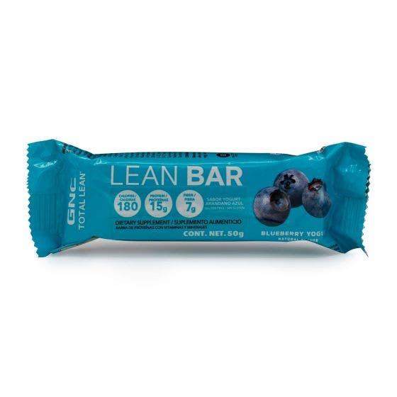 GNC Total Lean Barra de Proteína Yogurt Arándano Azul - 50 gr
