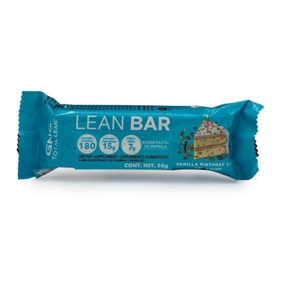 GNC Total Lean Barra de Proteína Pastel de Vainilla - 50 gr