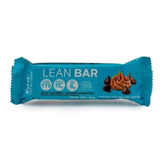 GNC Total Lean Barra de Proteína Chocolate Crema de Cacahuate - 48 gr