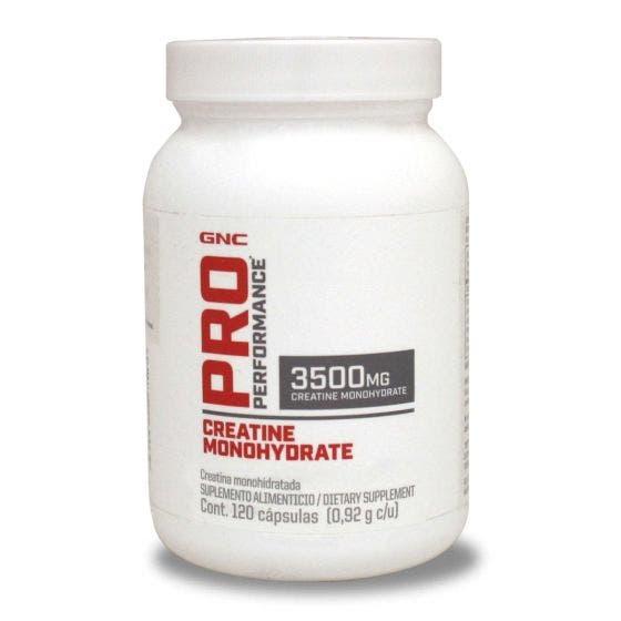 GNC Pro Performance Creatina Monohidratada 3500 mg - 120 Cápsulas