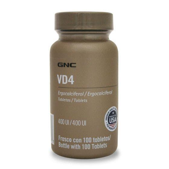 GNC Vitamina D 400 UI - 100 Tabletas