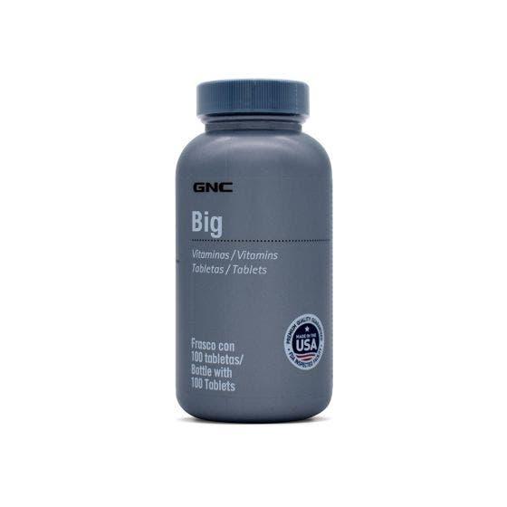 GNC BIG Complejo B 100 mg - 100 Tabletas