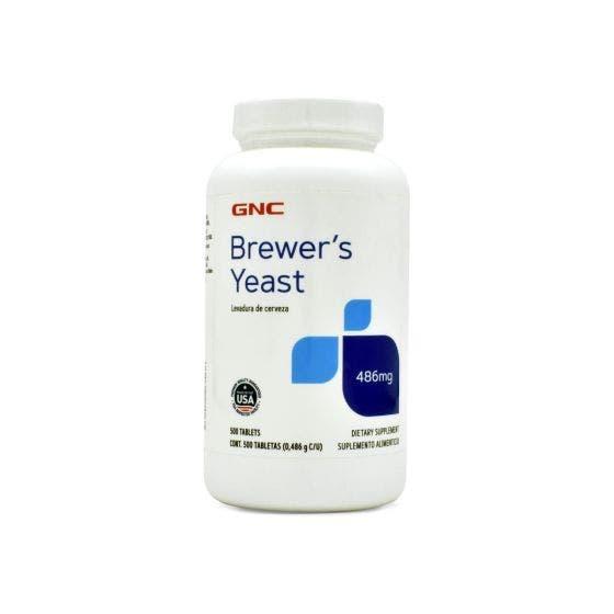 GNC Levadura de Cerveza 500 mg - 500 Tabletas
