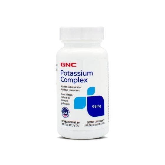 GNC Potasio 99 mg - 60 Tabletas