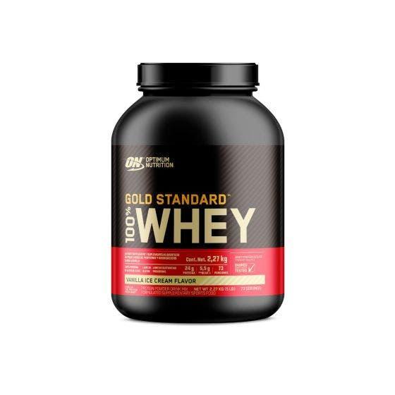 Optimum Nutrition Gold Standard 100% Whey Proteína de suero de leche Vainilla - 5 lb