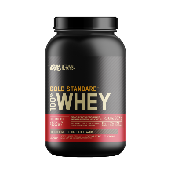 Optimum Nutrition Gold Standard 100% Whey Proteína de suero de leche Chocolate - 2.07 lb
