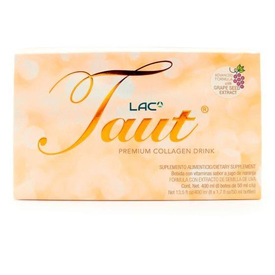 LAC Taut Bebida con Colágeno Naranja - 50 ml