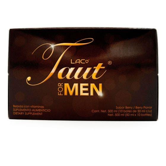 LAC Taut Bebida con Colágeno para Hombres Berry - 10 Botes