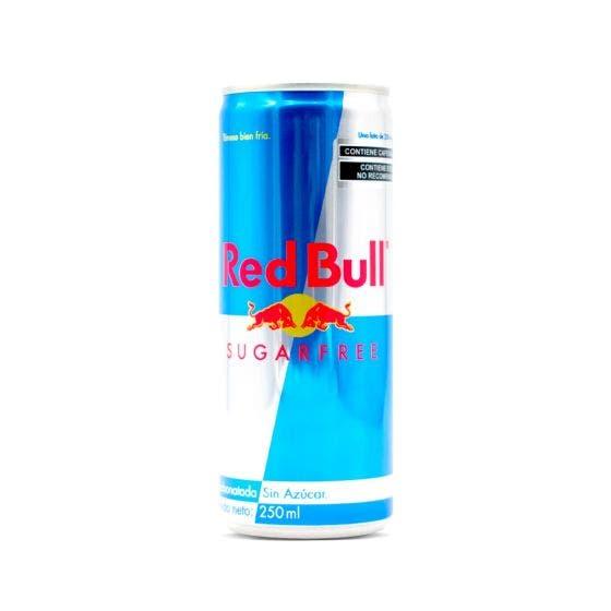 Red Bull Bebida Energizante Libre de Azúcar - 250 ml
