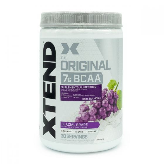Xtend BCAA aminoácidos Ramificados Uva - 392 gr