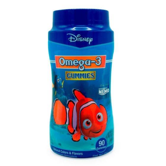 Biodesa Nemo Gomitas de Omega 3 para niños Frutas - 90 gomitas