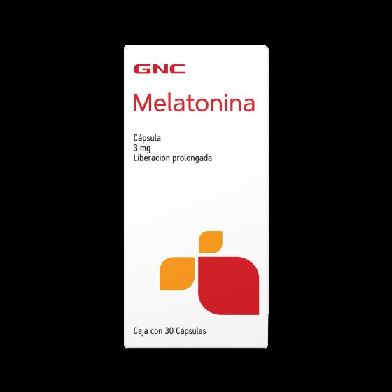 GNC Melatonina 3 mg - 30 Cápsulas