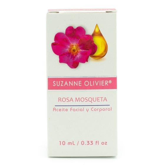Suzanne Olivier Aceite Facial y Corporal Rosa Mosqueta - 10 ml