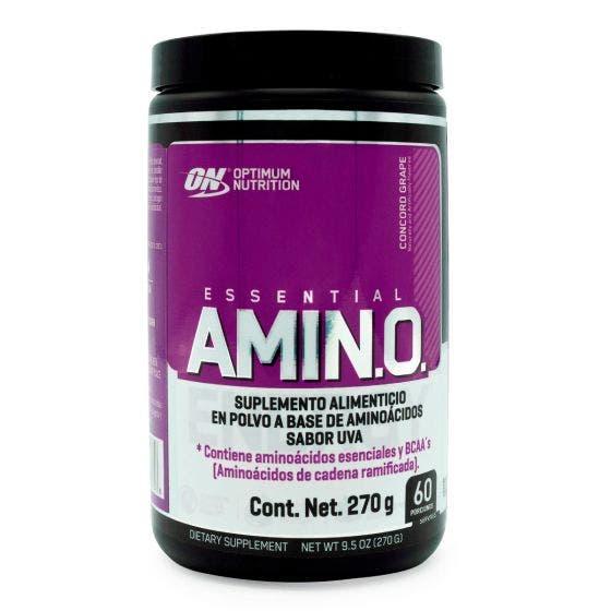 Optimum Nutrition Essential Amino BCAAs aminoácidos Ramificados Uva - 270 gr