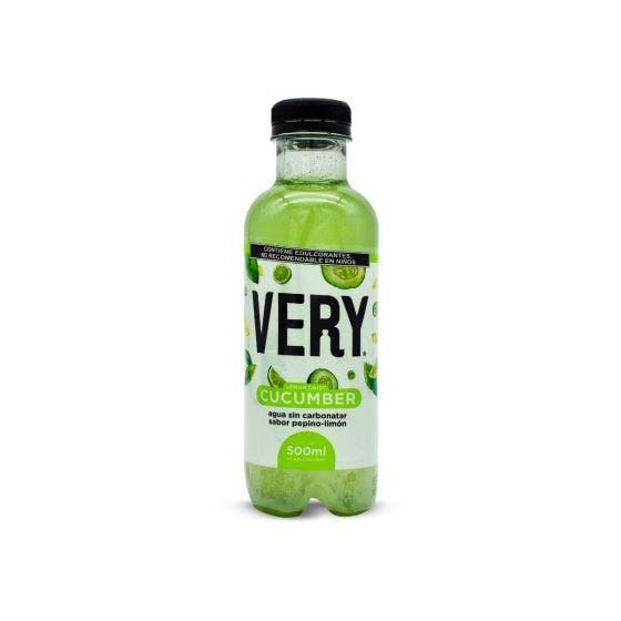 Very Bebida Antioxidante Pepino con Limón - 500 ml