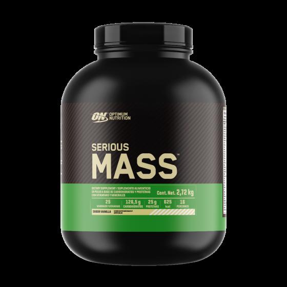 Optimum Nutrition Serious Mass Mezcla de Proteínas alto en carbohidratos Vainilla - 6 lb