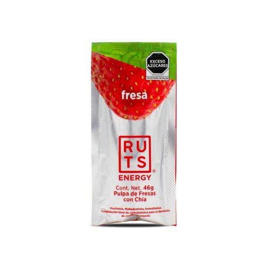 RUTS Gel Energético con Chía Fresa - 46 gr