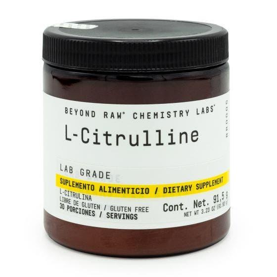Beyond Raw Chemistry Labs L-Citrulina - 91.5 gr