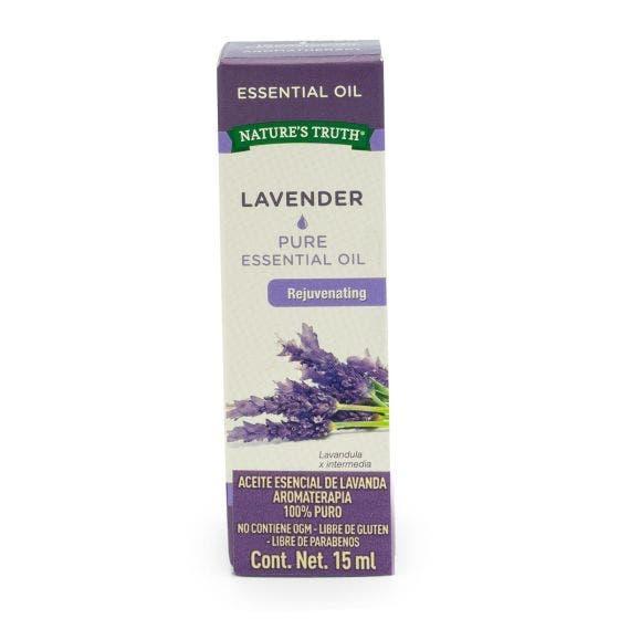 Nature's Truth Aceite Esencial de Lavanda - 15 ml