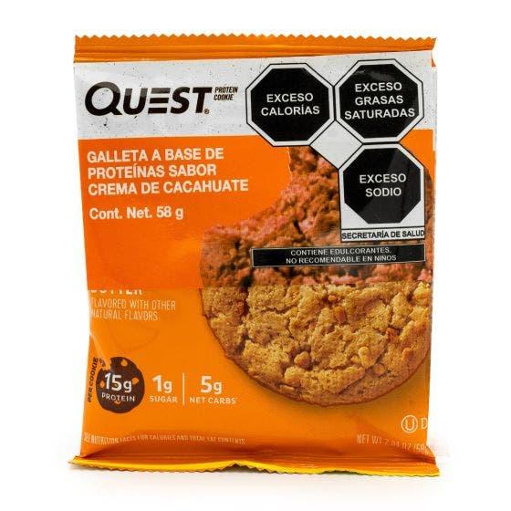 Quest Nutrition Galleta de Proteína Crema de Cacahuate - 58 gr