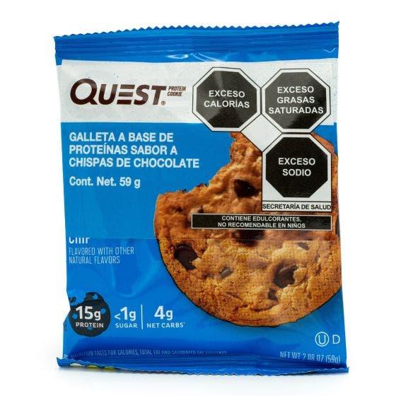 Quest Nutrition Galleta de Proteína Chispas de Chocolate - 59 gr