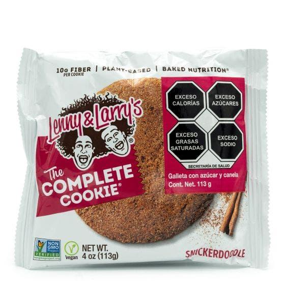 Lenny and Larry Galleta de Proteína Vegana Azúcar con Canela - 113 gr