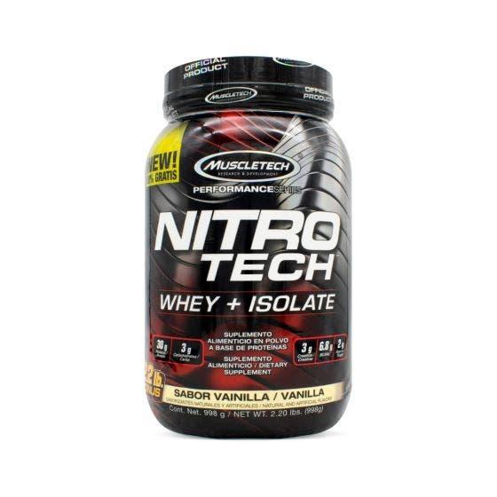 Muscletech Nitro Tech Vainilla - 2.20 Libras