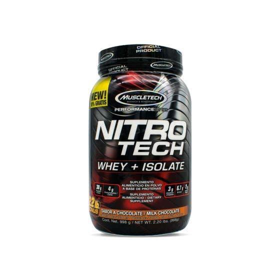 Muscletech Nitro Tech Chocolate - 2.20 Libras