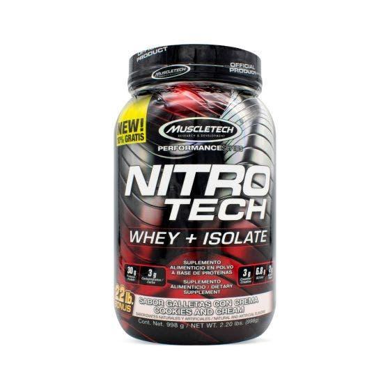 Muscletech Nitro Tech Bonus Cookies & Cream - 2.20 Libras