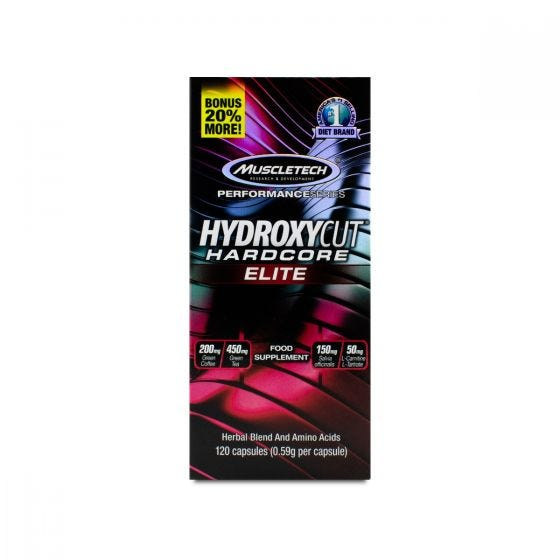 Muscletech Hydroxycut Hardcore Elite - 120 caps