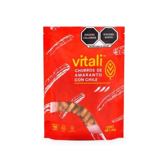 Vitalibr Snack de Churros De Amaranto - 50 gr