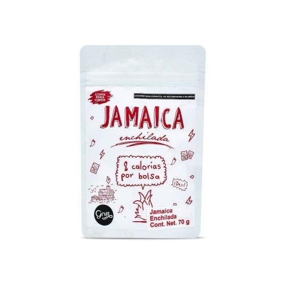 Grun Choice Snack de Jamaica Enchilada Con Stevia - 70 gr