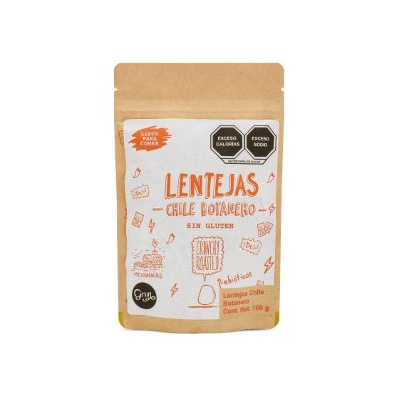 Grun Choice Snack de Lentejas con Chile Botanero - 100 gr
