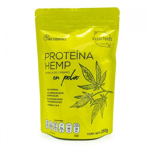 Tree Essentials Proteína Hemp en Polvo - 250 gr