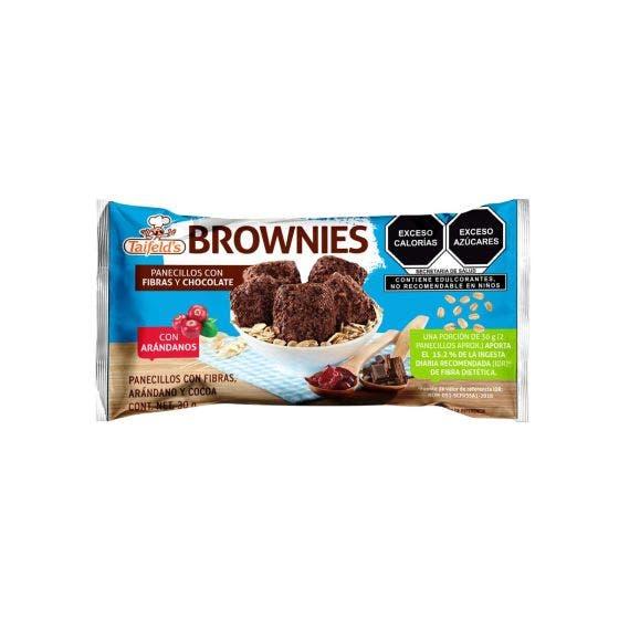 Taifeld's Brownies Light Arándanos y Chispas de Chocolate - 30 gr