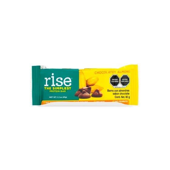 Rise Barra de Proteína -Almendras con Chocolate