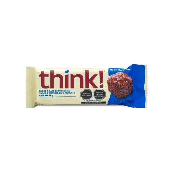Think Barra de Proteína Brownie Crujiente - 60 gr