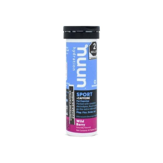 Nuun Tabletas Hidratantes con cafeína Mora Silvestre - 10 Tabletas