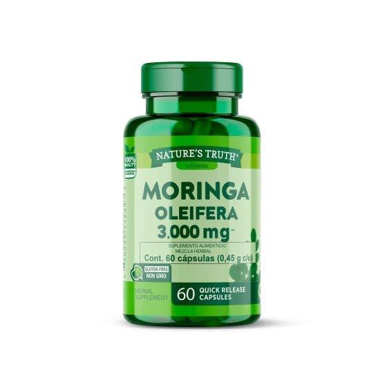 Nature's Truth Moringa 1000 mg - 60 Cápsulas