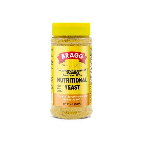 BRAGG Sazonador Nutricional de Lavadura - 127 Grs