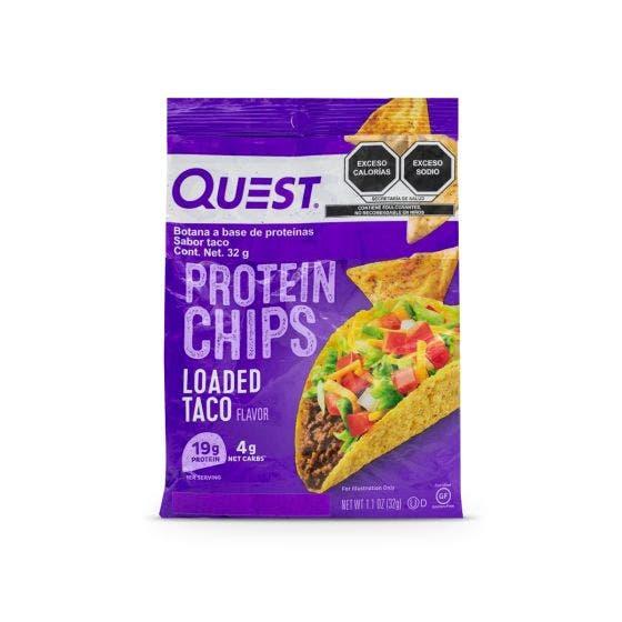 Quest Nutrition Snack Chips de Proteína Taco - 31 grs
