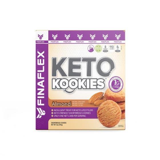 Finaflex Keto Kookies Galletas Keto Almendras - 170 gr