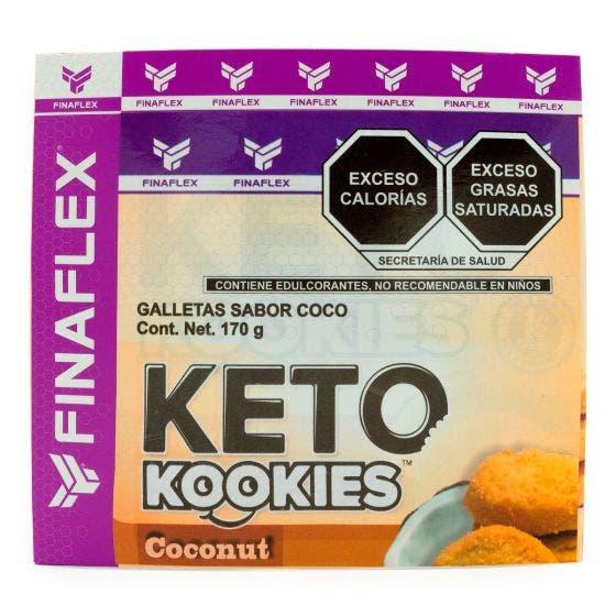 Finaflex Keto Kookies Galletas Keto Coco - 170 gr