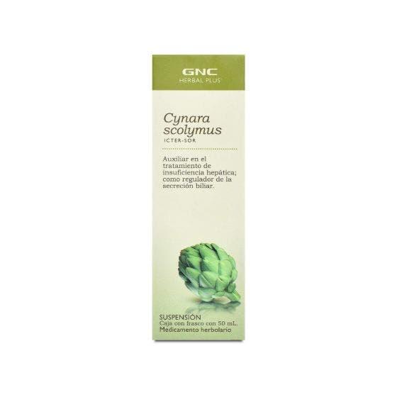 GNC Herbal Plus Icter-Sor Alcachofa Sin Sabor - 50 Mililitros