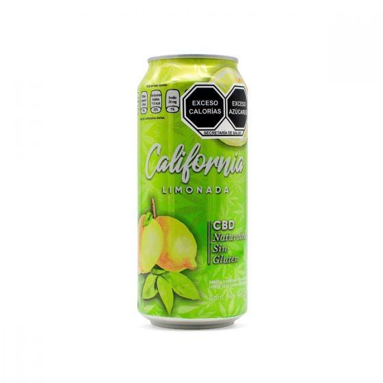 CBD Life -California -Bebida con CBD Limonada - 473 ml