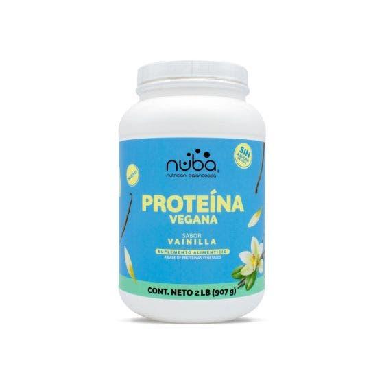 Nuba Proteína Vegana Vainilla - 2 Libras